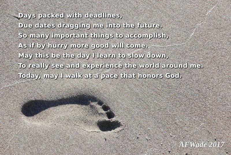 Balancing Lent