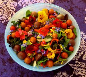 garden salad art