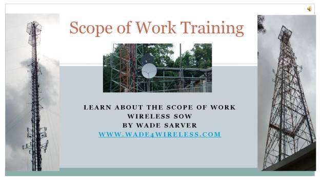 Scope of Work Tutorial