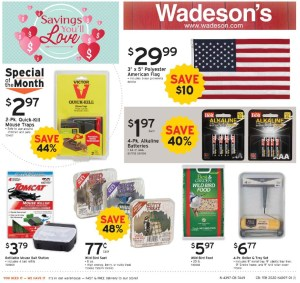 More Savings You Will Love From 2/14/20–2/29/20!