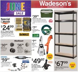 Summer Time Means Hot Deals From 6/12/20–6/30/20!
