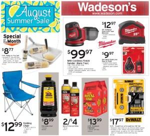 Our August Summer Sale Runs 7/31/20–8/12/20!