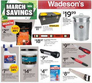 Spring into savings from 3/5/21–3/17/21!