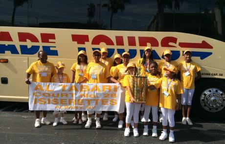 School Charter Buses Charter - Jr girls took 1 st place