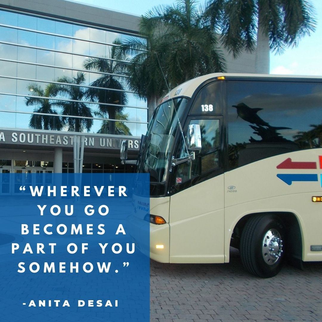 """""""Wherever you go becomes a part of you somehow."""" -Anita Desai"""