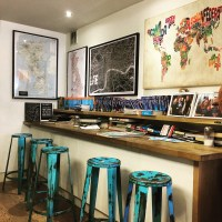 London, Waterloo: Four Corners café