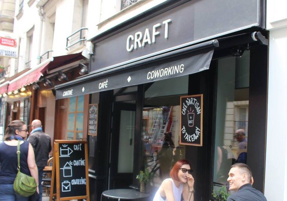 Paris: café + co-working space Craft