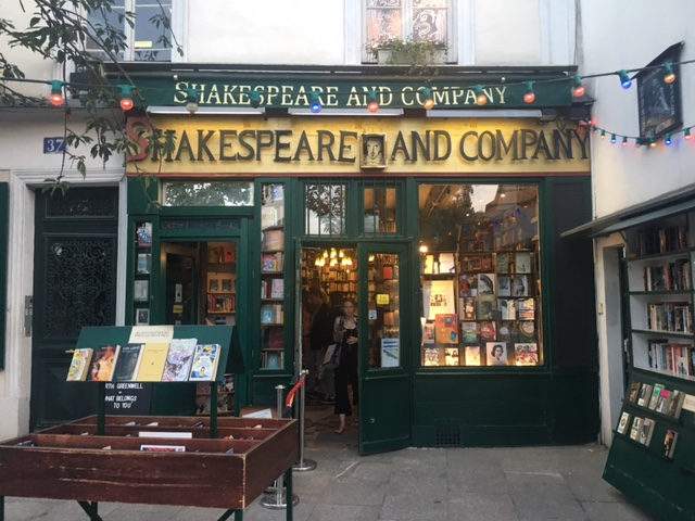 Paris: Shakespeare & Company bookstore and home for writers