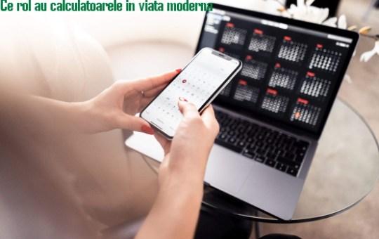 calculatoarele in viata moderna