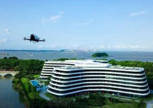 Baza taxiurilor aeriene va fi pe acoperisul unui hotel.