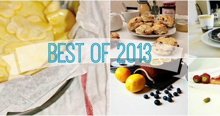 Le meilleur de 2013 en recettes !