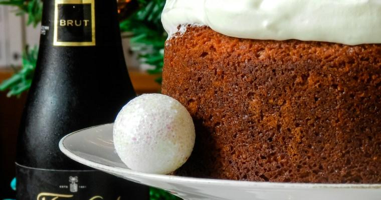 Gâteau aux clémentines et au chocolat blanc