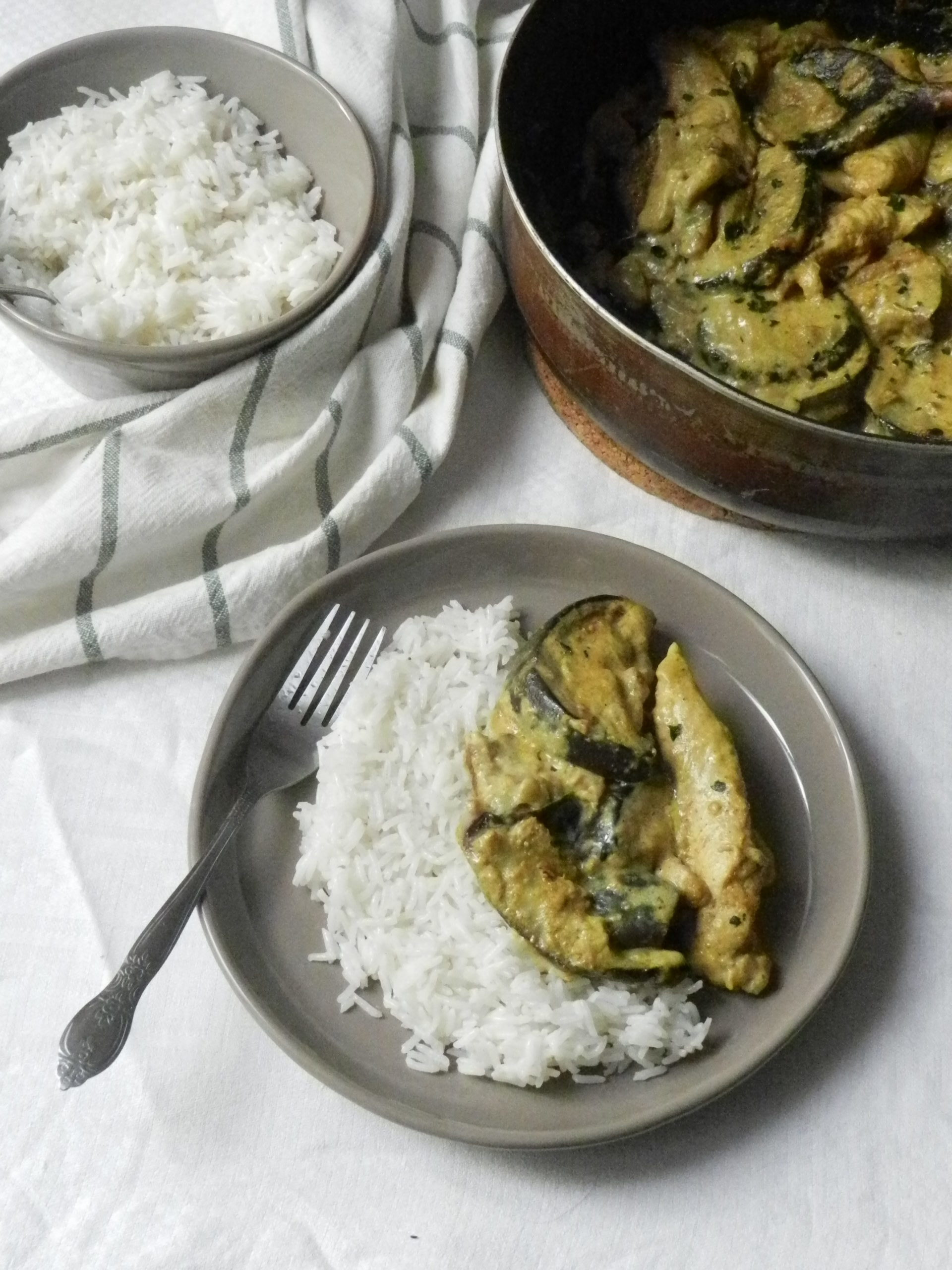 Curry D'Aubergines & Poulet - Wadji, Cooking Mama