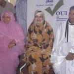 ميمونة محمد التقي/ مديرة الحملة وزيرة الشؤون الاجتماعية