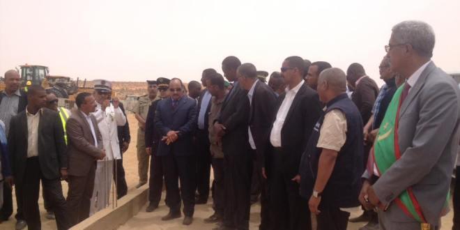 ولد عبد العزيز في زيارة لمركز إيديني وحظيرة آوليكات (صور)