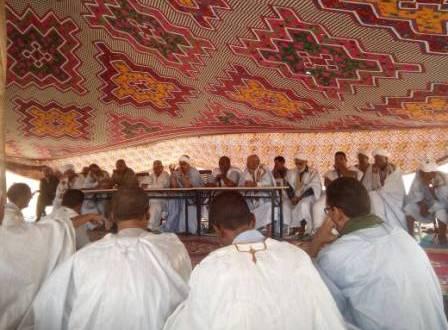 آوليكات: والي اترارزه يترأس اجتماعا حول التسجيل على اللائحة الانتخابية (صور)