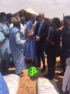انطلاق عملية توزيع للمواد الغذائية على قرابة مائة ألف أسرة موريتانية