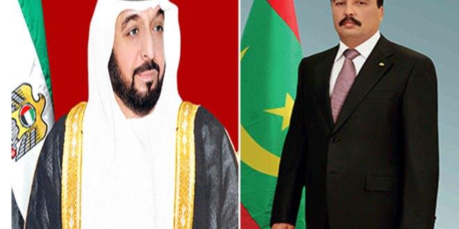 موريتانيا تهنئ قادة الإمارات بمناسبة العيد الوطني للبلاد