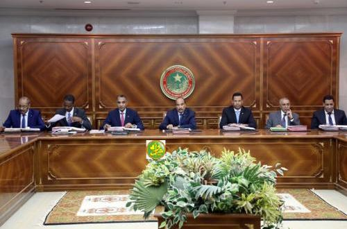 مجلس الوزراء يعقد اجتماعه الأسبوعي بنواكشوط