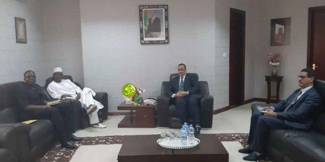 وزير الخارجية يتباحث مع دبلوماسيين غربيين وإقليميين