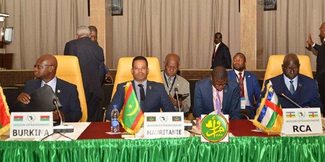 الرئاسة الموريتانية تستعرض أمام س ص تجربة البلاد الأمنية