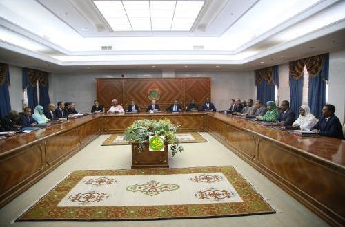 بيان مقتضب من الحكومة الموريتانية الجديدة