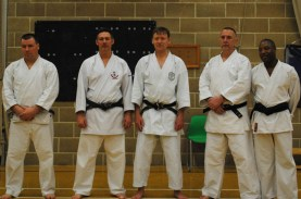 2011 - Colchester. Old friends from Leeds Wado Kai.