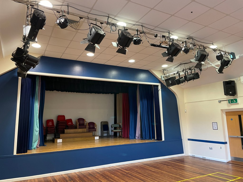 Main Hall Stage lighting
