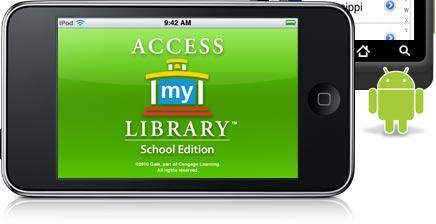 AccessMyLibrary - School Edition app