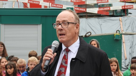 Schulpräsident Markus Oertle.