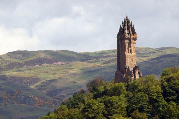 Ancient Scottish ruins