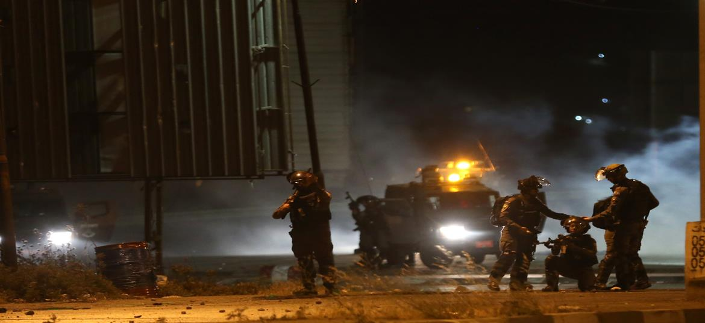 الاحتلال يطلق النار على فتاة جنوب نابلس