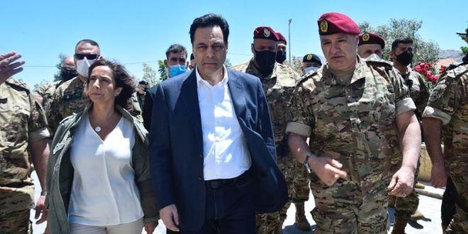 دياب من رأس بعلبك: الجيش عنوان أمل بتجذر الانتماء الوطني واللبنانيون يريدون الانتقال من دولة الطوائف والمذاهب إلى الدولة الواحدة