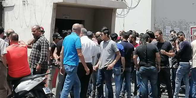 اعتصامان أمام قصر العدل والسرايا في طرابلس استنكارا لتوقيف محتجين
