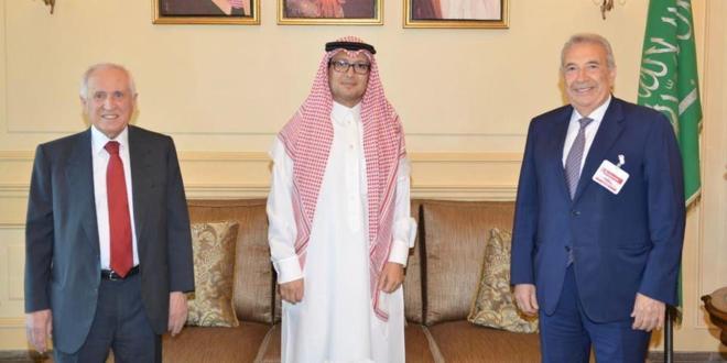 بخاري استقبل رئيسة الكتلة الشعبية وأبو زكي