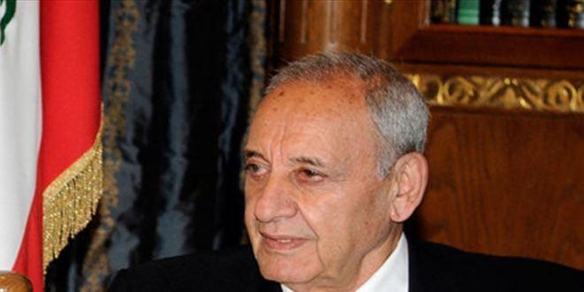 بري عرض الاوضاع مع رئيسة لجنة التربية واتصل معزيا برحيل محسن ابراهيم