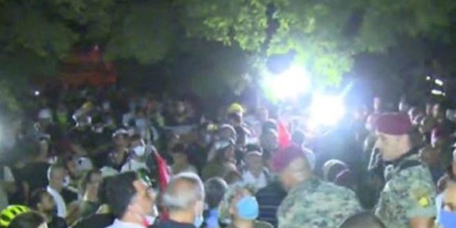 الجيش أخلى مبنى وزارة الخارجية ومحيطه