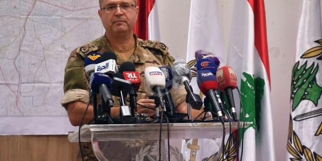 قيادة الجيش: لا يزال هناك تسعة مفقودين جراء انفجار المرفأ وهذا الملف لن يقفل