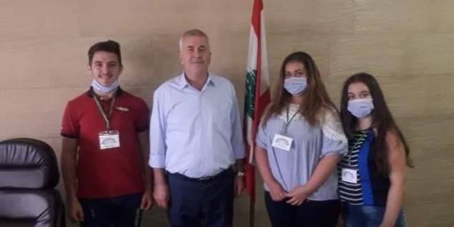 جمعية الدار العالي تقدم اقنعة واقية لفوج اطفاء طرابلس وتطالب بتأمين تجهيزات له