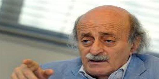 جنبلاط: إيران وأميركا لا تريدان حكومة