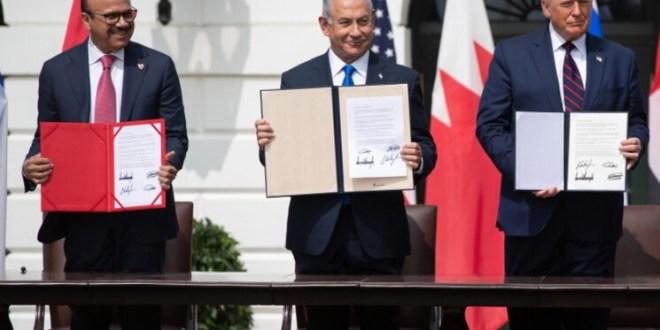 تظاهرات في البحرين ضد التطبيع مع إسرائيل