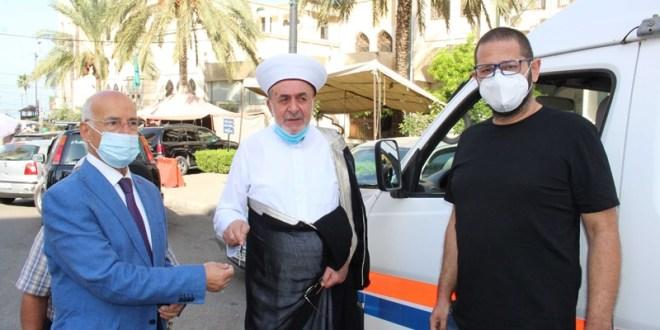 سيارة اسعاف من مؤسسة الحريري لأوقاف صيدا سوسان: الناس تنتظر العمل والاصلاح والشفافية مع حكومة جديدة
