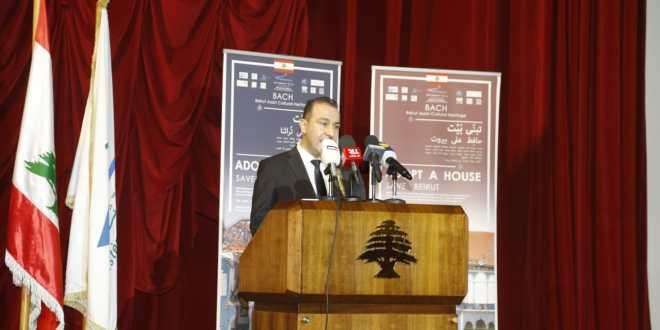 مرتضى أطلق المرحلة الثانية من عملية ترميم الابنية الاثرية: تتطلب 300 مليون دولار وأتوجه الى اللبنانيين وأصدقائنا الدوليين ادعموا بيروت