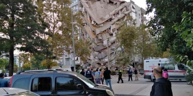 بعد زلزال إزمير.. تسونامي جزئي!