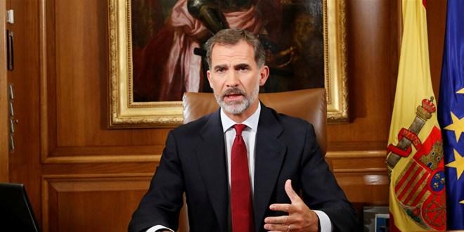 ملك إسبانيا في الحجر الصحي!