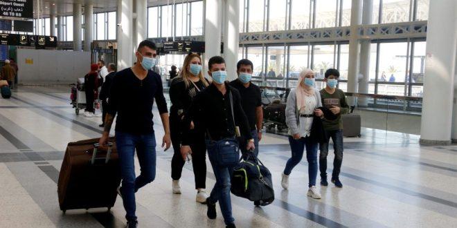 نتائج فحوص رحلات وصلت إلى بيروت : 5 حالات إيجابية