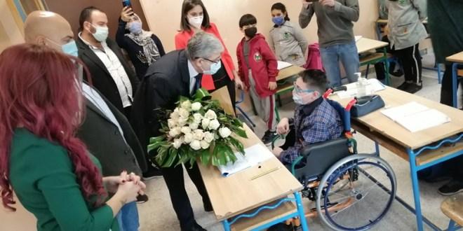 المجذوب تفقد مدرسة عمر حمد الرسمية في اليوم الوطني لدمج التلامذة ذوي الصعوبات التعلمية