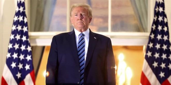 لحظات مغادرة ترامب البيت الأبيض: أتمنى أن لا يطول الوداع