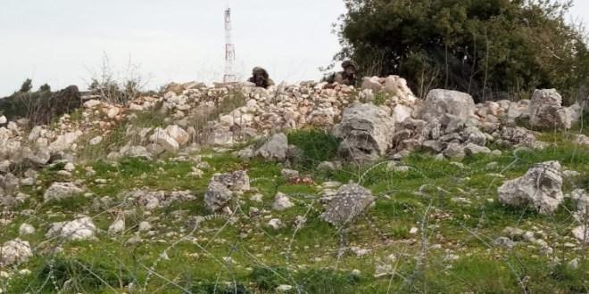 دبابة إسرائيلية تخرق السياج في ميس الجبل!