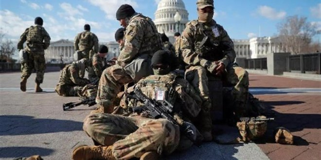 كورونا يتفشى بين أفراد الحرس الوطني الأميركي